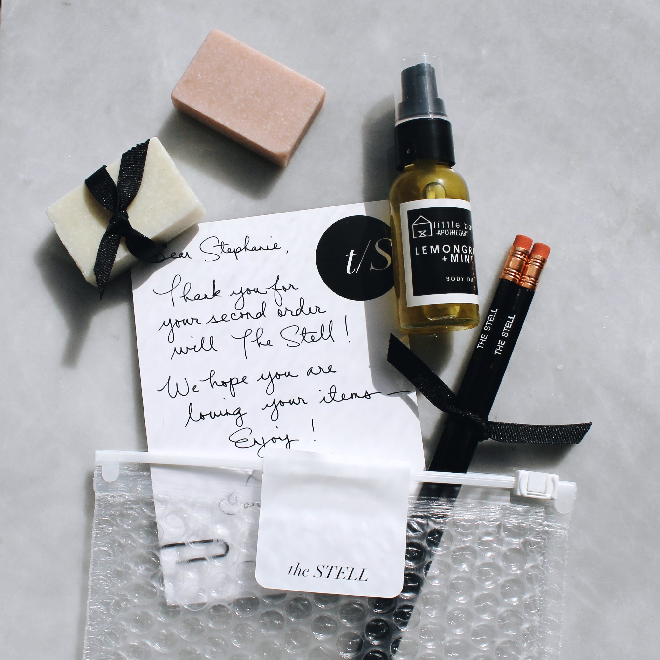 Unboxing My Order From The Stell - Natural Beauty