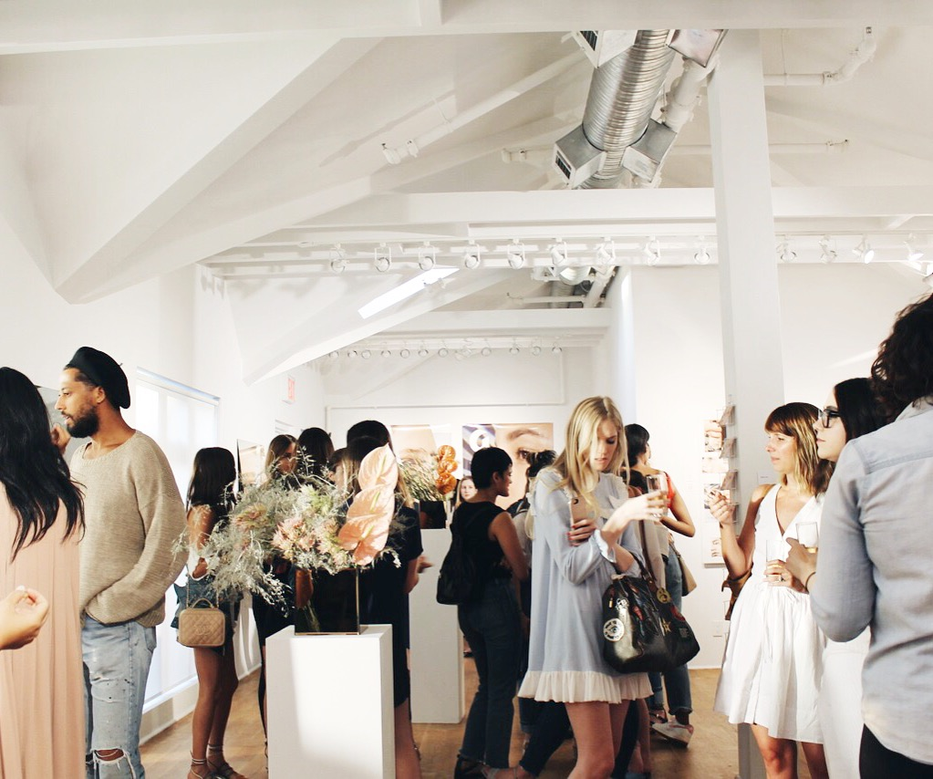 Glossier Haloscope Launch Party