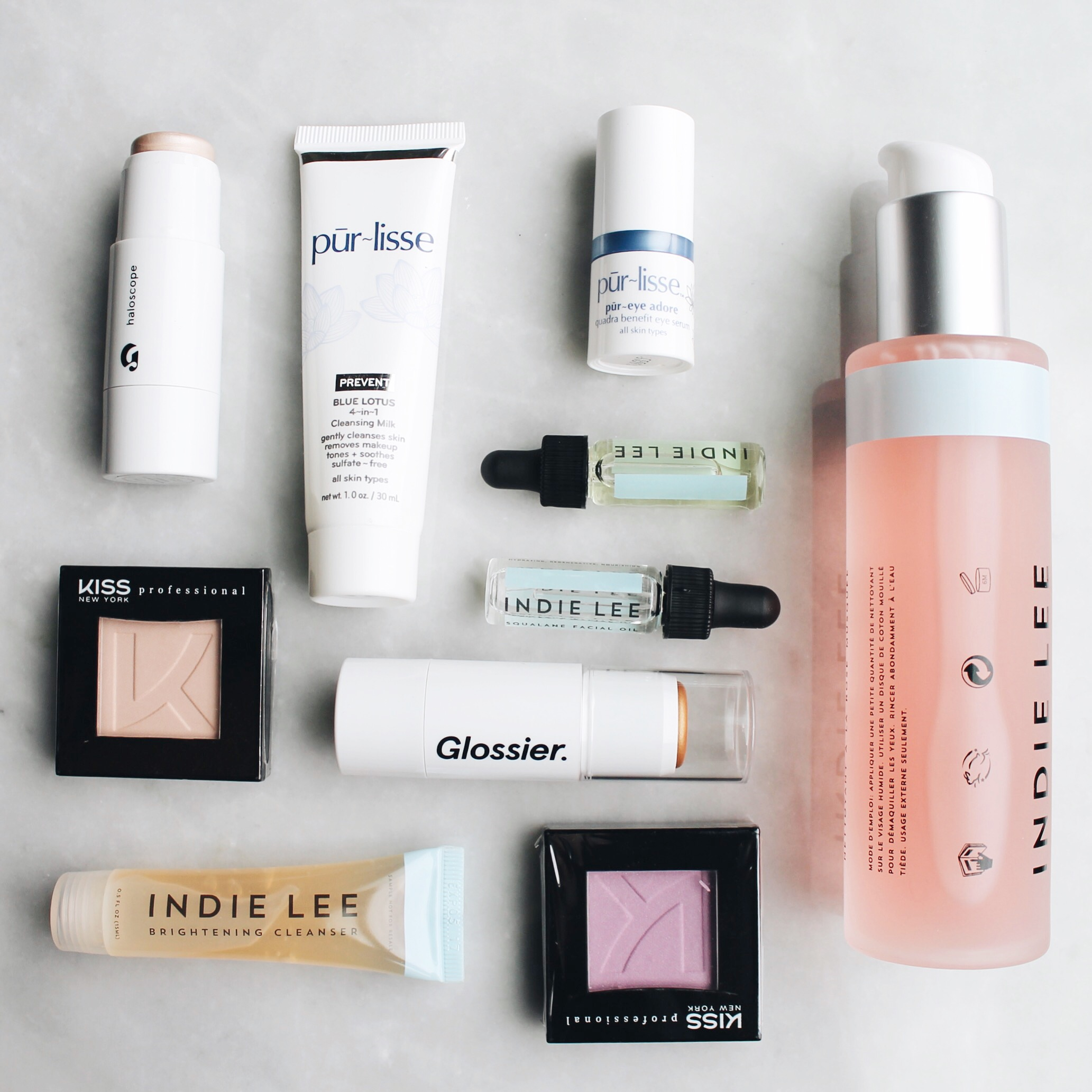 Unboxing My Packages, Glossier, Haloscope, Indie Lee, Kiss Professional, Purlisse, The Stell New York