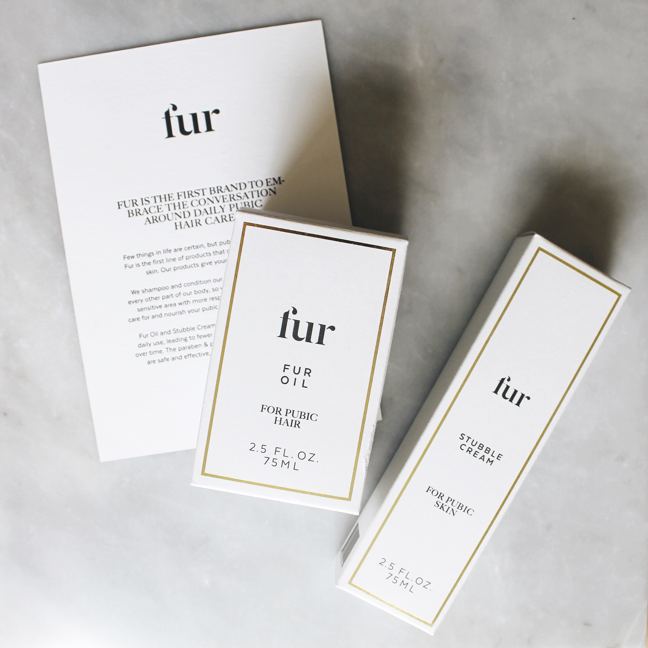 Fur, Fur Beauty, Fur Oil, Stubble Cream, Bodycare, Lillian Tung, Fur You