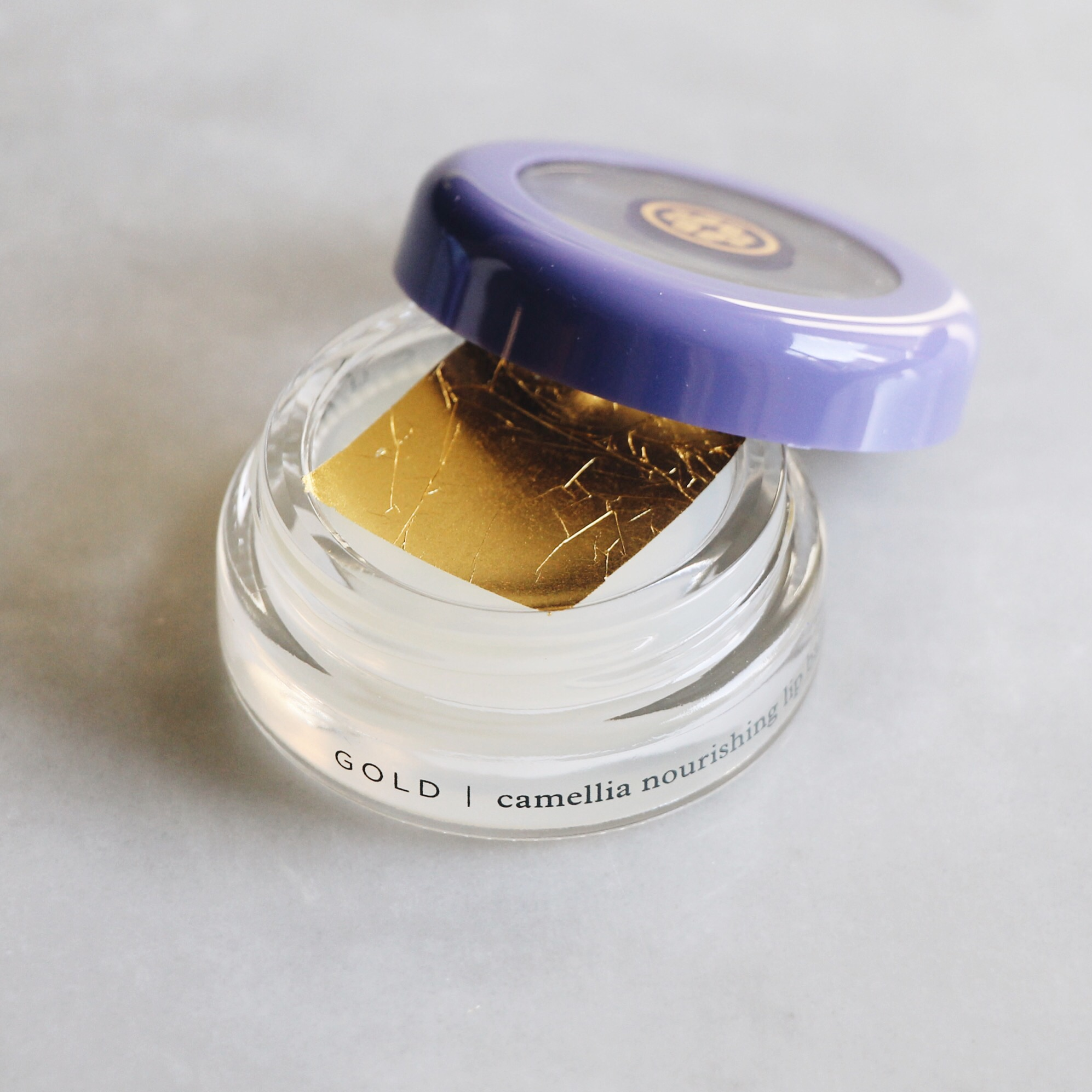 Tatcha Gold Camellia Nourishing Lip Balm, Tatcha Camellia Lip Balm, Tatcha Gold Camellia Lip Balm, Tatcha Lip Balm Review, Tatcha Gold Camellia Lip Balm Review, Tatcha, Tatcha Samples, Tatcha Gold Leaf Lip Balm, Gold Leaf Lip Balm, 24k Gold Lip Balm, 24 Karat Gold Lip Balm