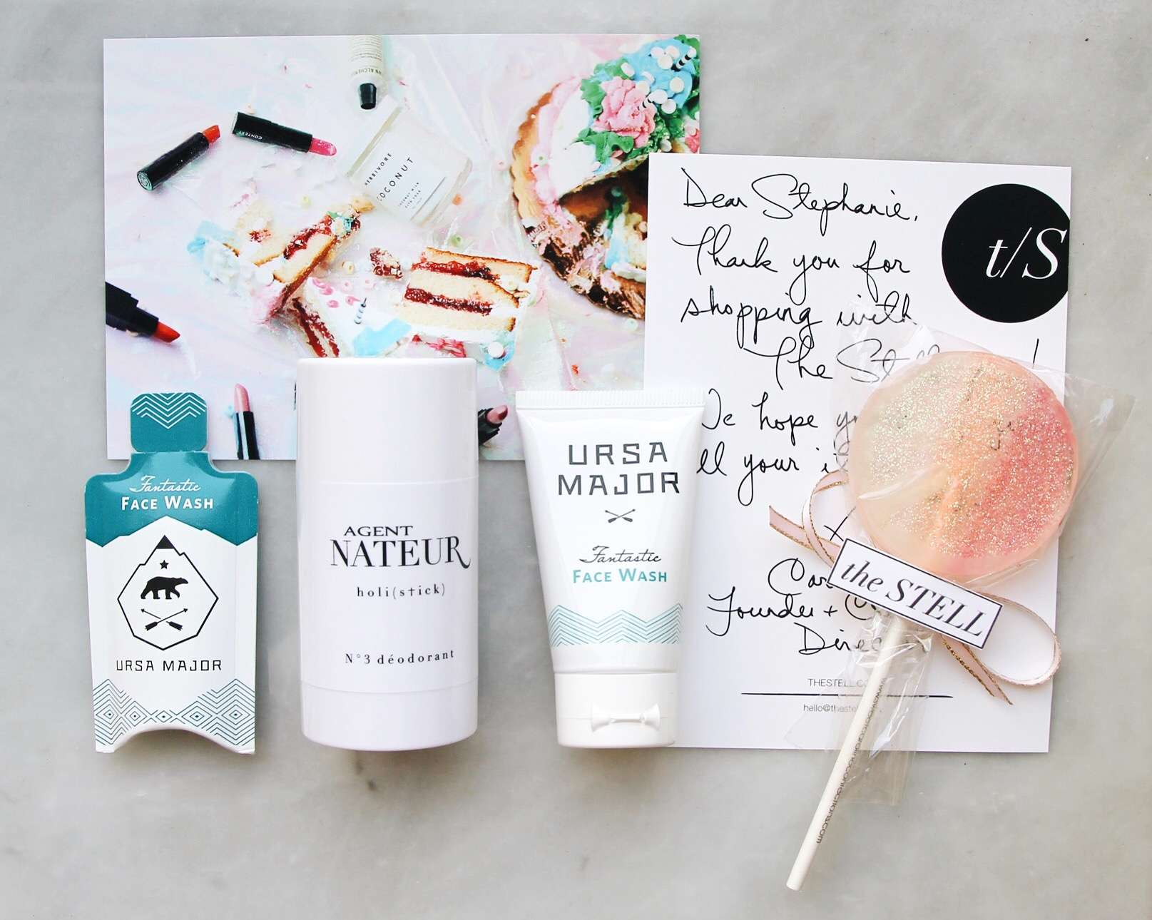 The Stell Order & Unboxing, Natural Beauty, The Stell, The Stell New York, Ursa Major, Agent Nateur