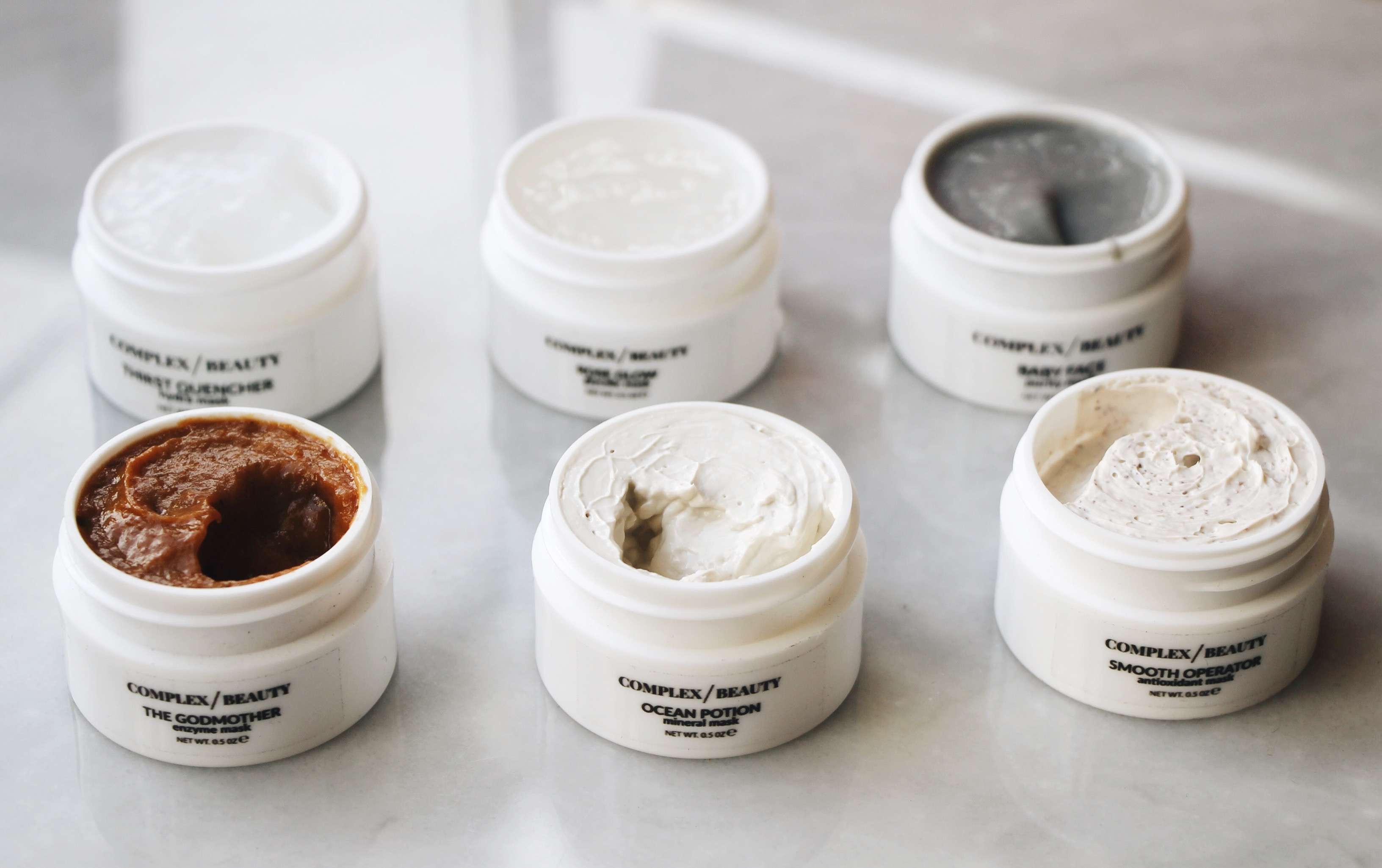 Coolest Indie Beauty Brands: Complex Beauty, Complex Beauty, Masks