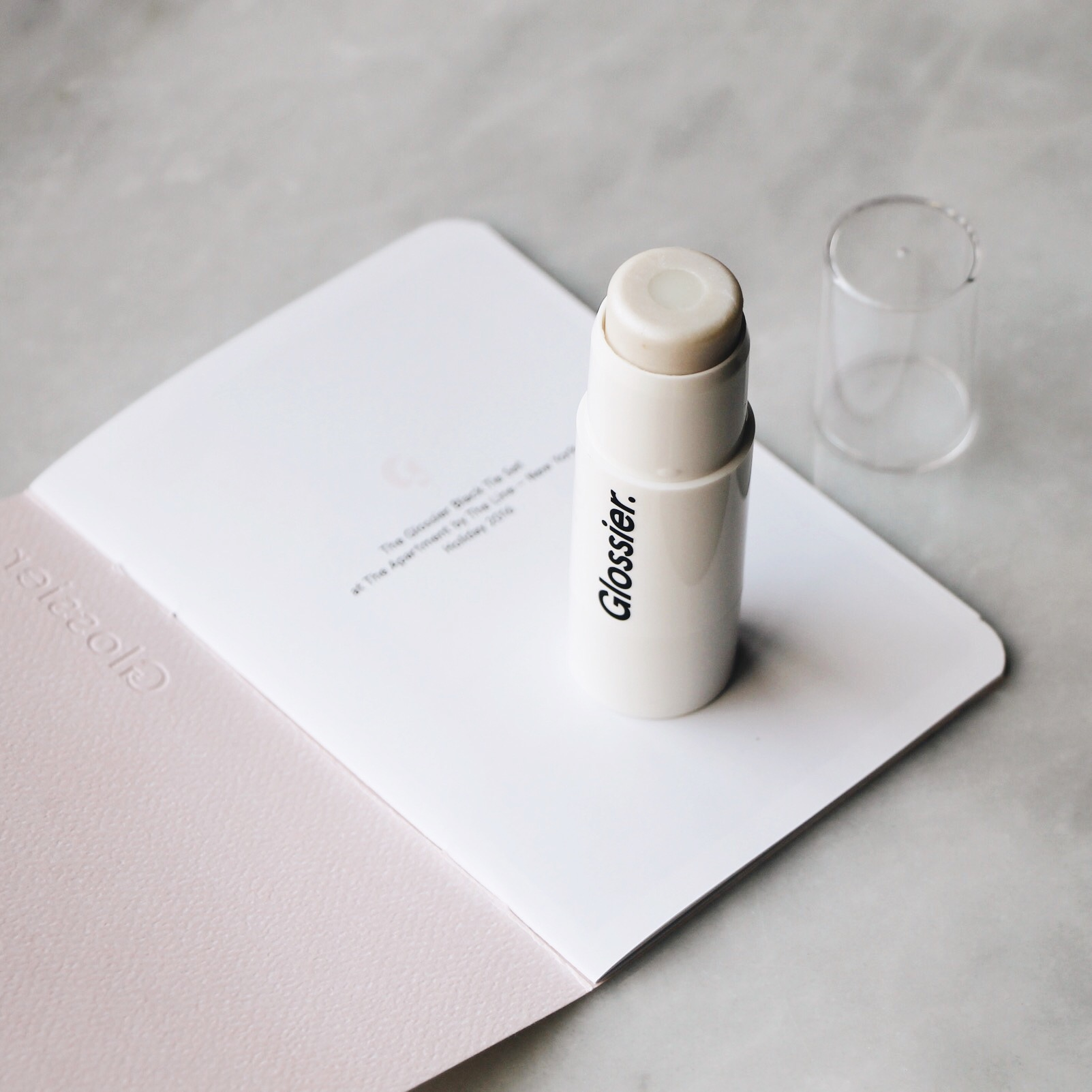 Glossier Black Tie Set, Glossier Black Tie Set Review Glossier, Black Tie Set, Limited Edition Black Tie Set, Glossier Holiday 2016, Glossier Limited Edition, Haloscope in Moonstone, Glossier Pink, Glossier Nail Polish, Glossier Eyeliner, Glossier Lip Gloss, Moonstone, Haloscope in Moonstone