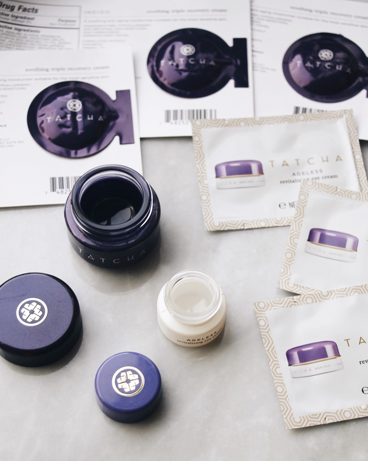 How To Make The Most Out Of Your Beauty Samples, Beauty Samples, Free Samples, Tatcha, Tatcha Samples, Tatcha Eye Cream, How To Get Beauty Samples, Where To Get Beauty Samples
