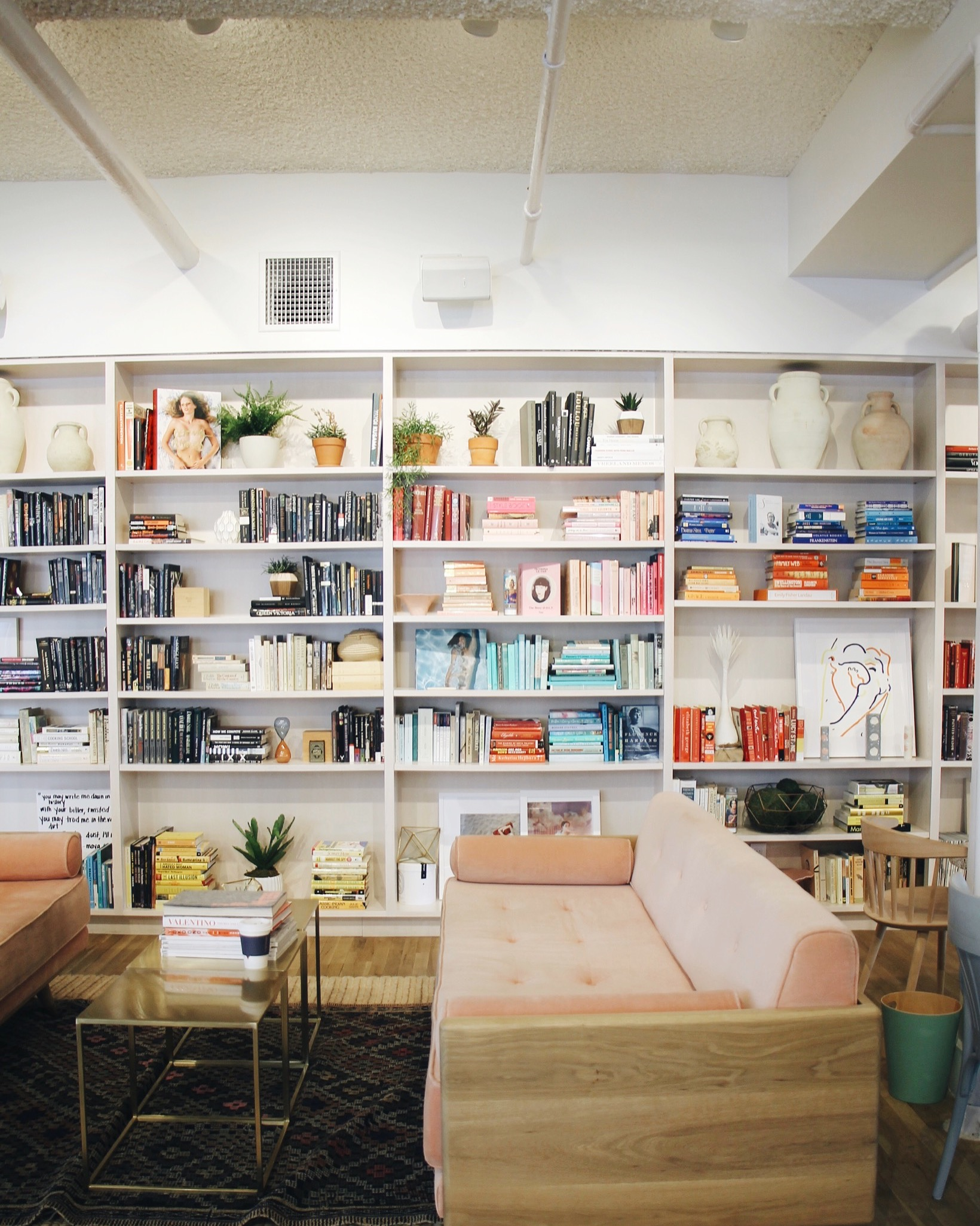 Inside The Wing, NYC's Women-Only Social Club and Co-working Space, The Wing, The Wing New York, The Wing Social Club, The Wing Women's Club, The Wing Coworking Space