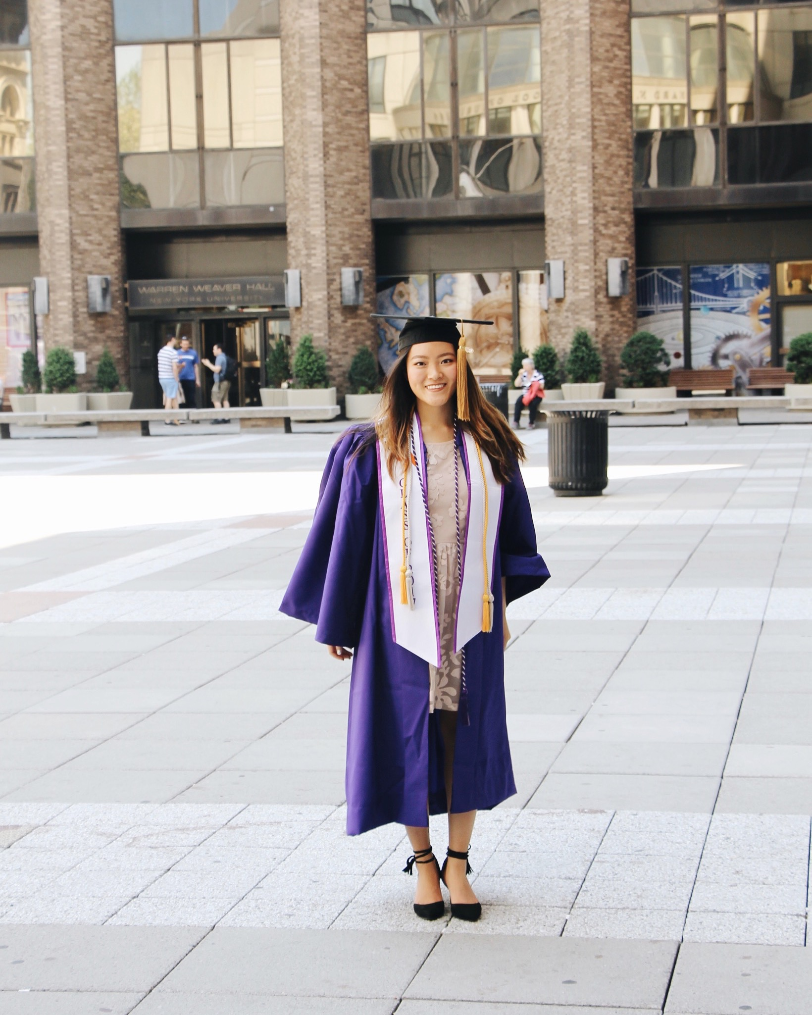NYU Stern Graduation, Graduating From NYU Stern, NYU Graduation, #iamstern, #wearestern, Stern 2017