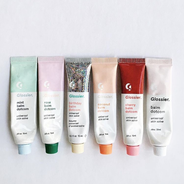 Glossier Balm DotCom - Collect Them All!, Glossier, Glossier Balm Dotcom, Glossier Birthday Balm Dotcom, Glossier x Milkbar, Rose Balm Dotcom, Coconut Balm Dotcom, Flavored Balm Dotcoms