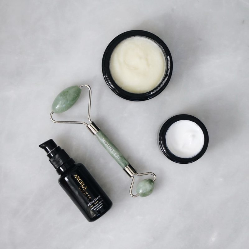 Angela Caglia, Angela Caglia Skincare, Violet Grey, Approved By The Violet Code, Celebrity Facialist, Celebrity Facialist Skincare Tips, Acne Fighting Tips, Acne Treatment Tips, Jade Roller, Mount Lai
