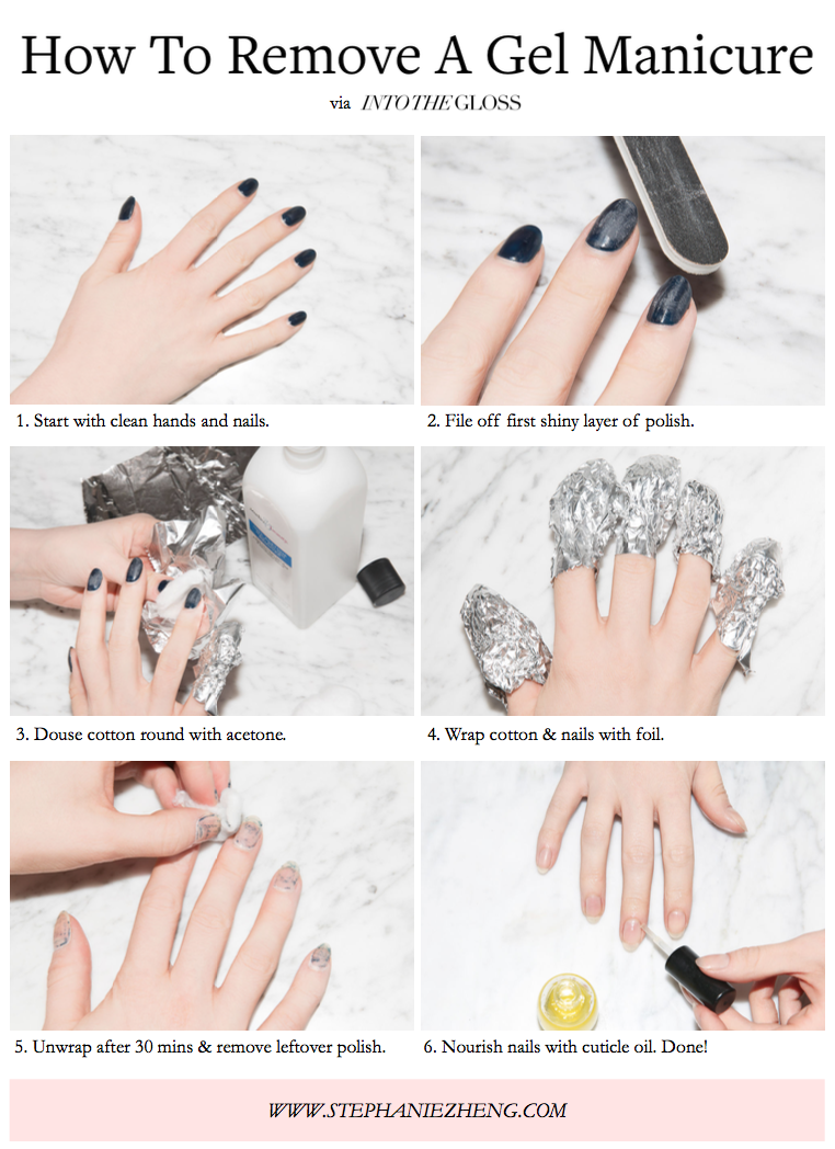 A Complete Guide to Gel Manicures - Collection of Vials