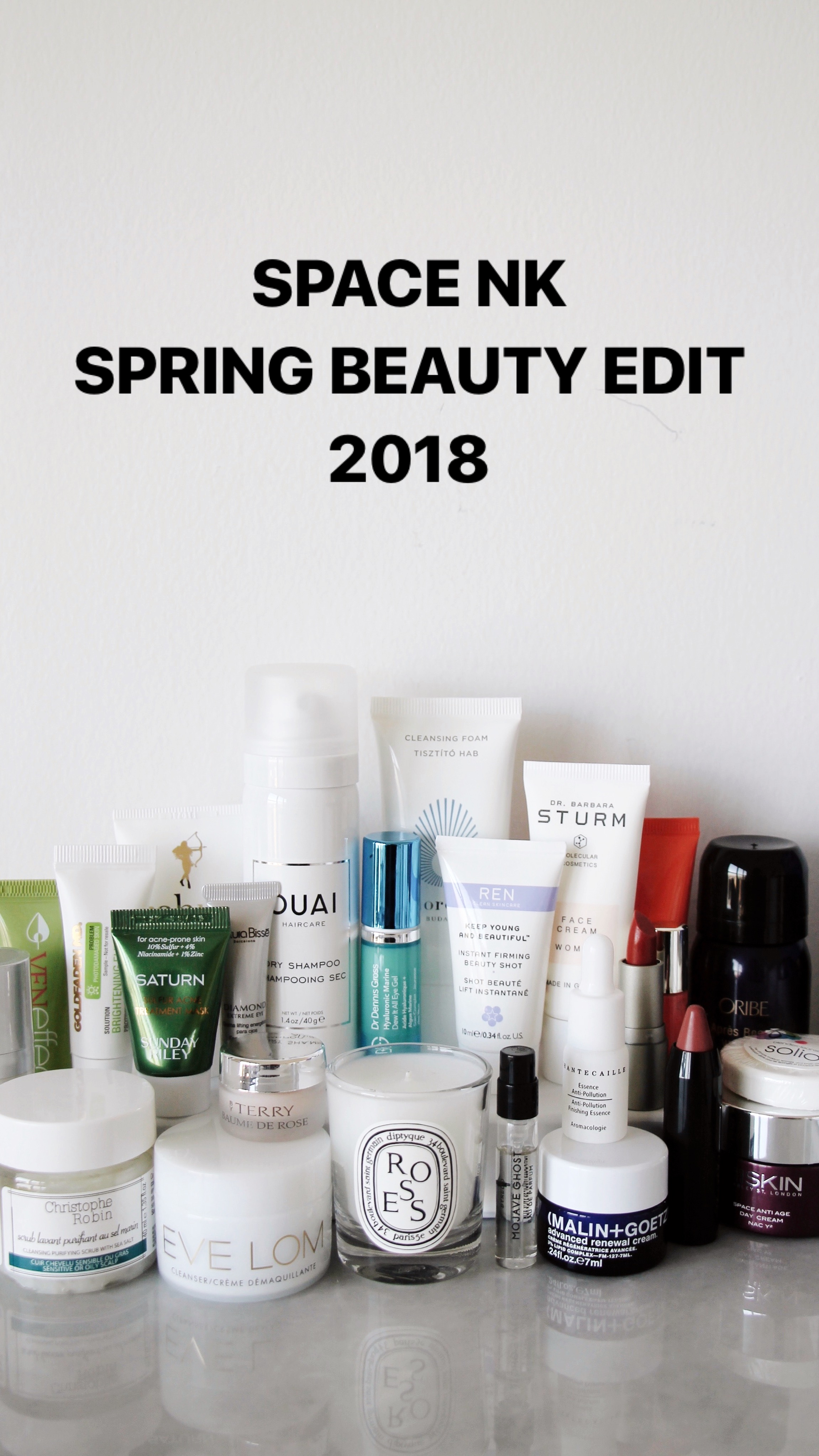 f2bc403cb2d Space NK Spring Beauty Edit 2018, Space.NK, SpaceNK Spring Beauty Edit, ...